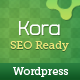 Kora WordPress Theme - ThemeForest Item for Sale