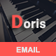Doris - Responsive Email Template - ThemeForest Item for Sale