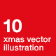 Christmas and New Year illustrations - GraphicRiver Item for Sale