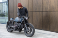 Vintage rebuilt motorcycle motorbike caferacer - PhotoDune Item for Sale