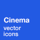 Cinema Icons - GraphicRiver Item for Sale