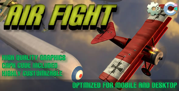 Air Fight - (C2, C3, HTML5) Game Download