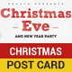 Christmas and New year Post Card - GraphicRiver Item for Sale