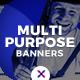 Multipurpose Web Banner Set - GraphicRiver Item for Sale