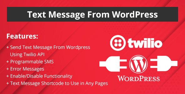 Twilio Plugins, Code & Scripts from CodeCanyon