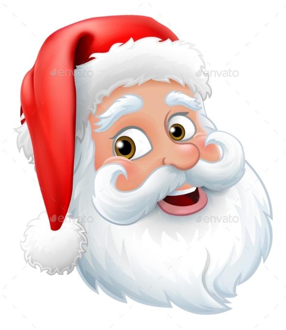 Santa Claus Father Christmas Cartoon Character