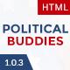 Political Buddies - Election Campaign & Activism HTML5 Template - ThemeForest Item for Sale