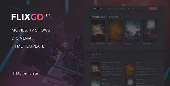 FlixGo – Online Movies, TV Shows & Cinema HTML Template