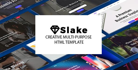 Slake | The Multi-Purpose HTML5 Template