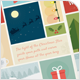 Cute Christmas and New Year Folded Card - V01 - GraphicRiver Item for Sale