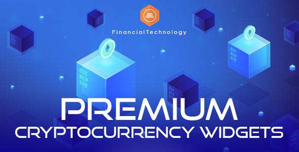Premium Cryptocurrency Widgets | WordPress Crypto Plugin Download