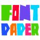 Paper Font Cut Letters - GraphicRiver Item for Sale