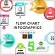 Set Of Flow Chart Infographics - GraphicRiver Item for Sale