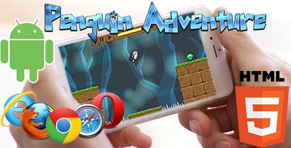 Penguin Adventure HTML5 Game (CAPX) Download