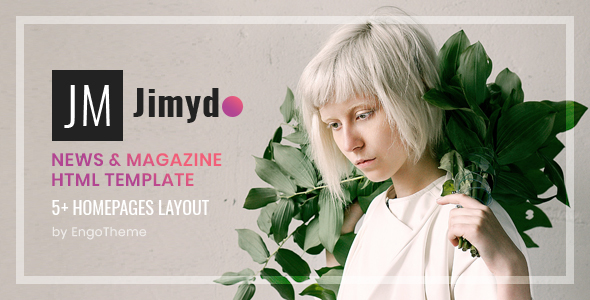 JIMYDO – News & Magazine HTML Template