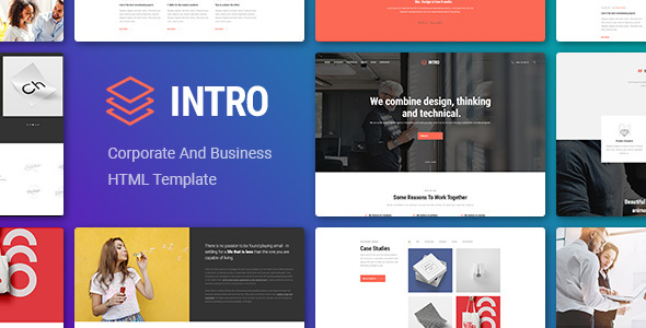 INTRO - Corporate And Business HTML Template