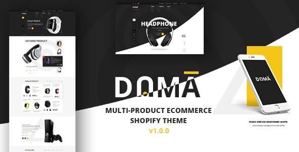 Dama - Multi Store Responsive Shopify Theme