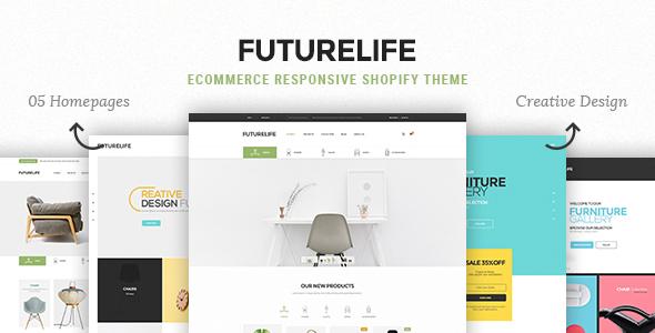Futurelife - eCommerce Responsive Shopify Theme