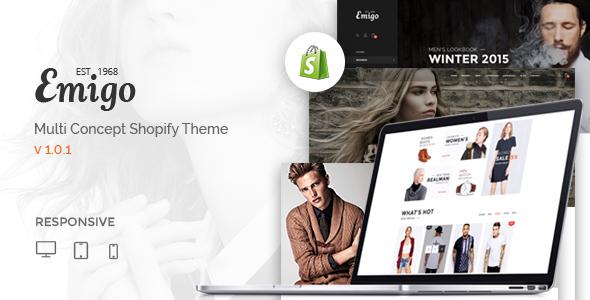 Emigo - Multi Concept Shopify Theme