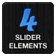 4 Theme Slider Elements - GraphicRiver Item for Sale