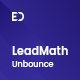 LeadMath - Lead Generation Unbounce Landing Page Template - ThemeForest Item for Sale