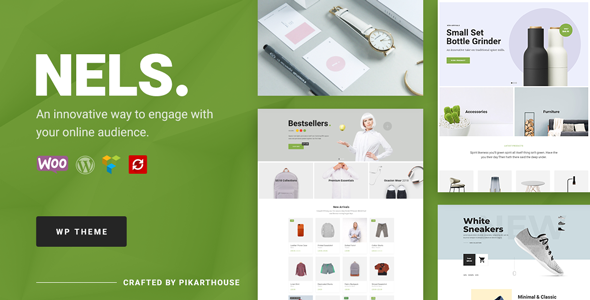 Nels - An Exquisite eCommerce WordPress Theme