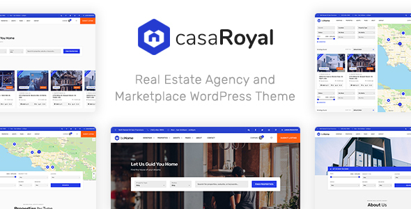 casaRoyal - Real Estate WordPress Theme