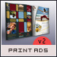 Print Ad Templates v2 - GraphicRiver Item for Sale