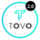 Tovo - React App Landing Page - ThemeForest Item for Sale
