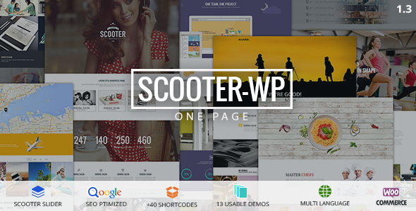 Scooter One Page Multi-Purpose