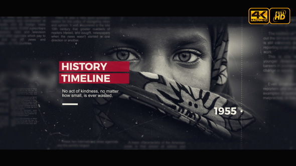 Timeline History After Effects Templates from VideoHive