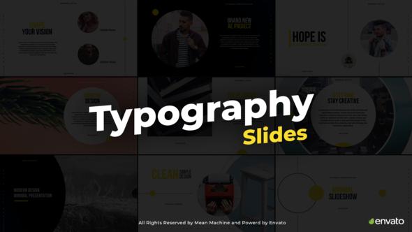 Typography Slides