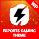 PixieBolt | eSports Gaming Theme For Clans & Organizations - ThemeForest Item for Sale