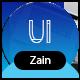 Zain - One Page Portfolio - ThemeForest Item for Sale