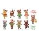Santas Reindeer Set - GraphicRiver Item for Sale