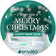 Merry Christmas Greeting Card - VideoHive Item for Sale
