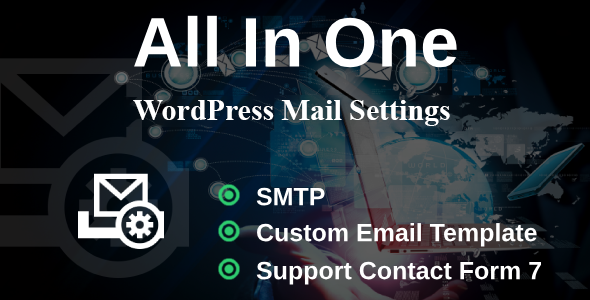 WP Mail Settings - Missing WordPress Settings