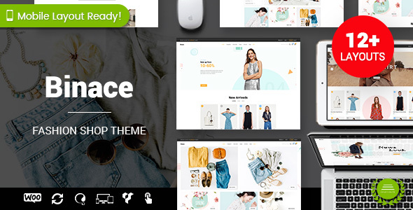 Binace - Fashion Shop WordPress WooCommerce Theme