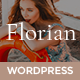 Florian - Responsive Personal WordPress Blog Theme - ThemeForest Item for Sale