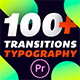 Essential Transitions & Typography | MOGRT - VideoHive Item for Sale