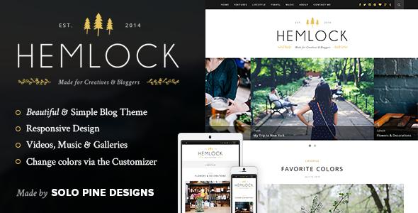 Hemlock - responsywny blog WordPress