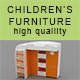 High quality children's furniture - 3DOcean Item for Sale
