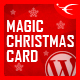 Magic Christmas Card With Animation - WordPress Plugin - CodeCanyon Item for Sale
