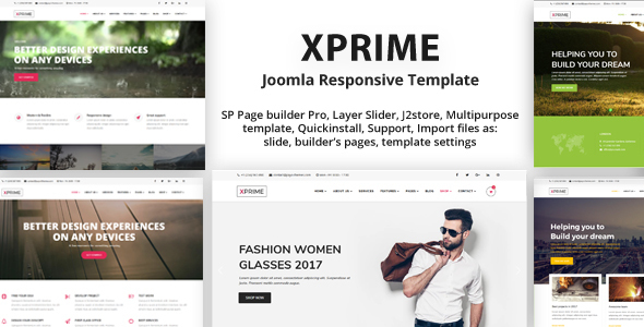 XPRIME – Creative Joomla Multipurpose Template | Medical Marijuana Dispensary