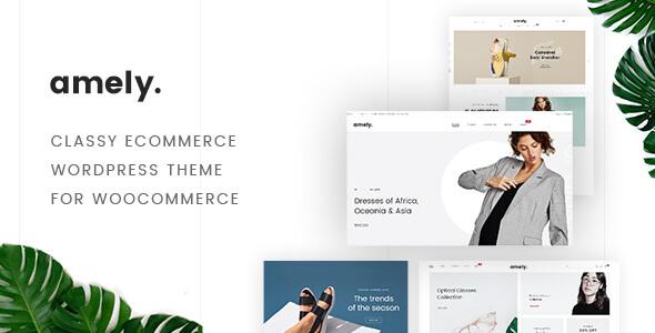 Fashion Amely - Fashion Shop WordPress Theme for WooCommerce