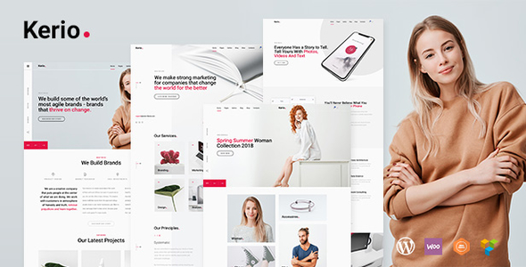 Kerio - Creative MultiPurpose WordPress