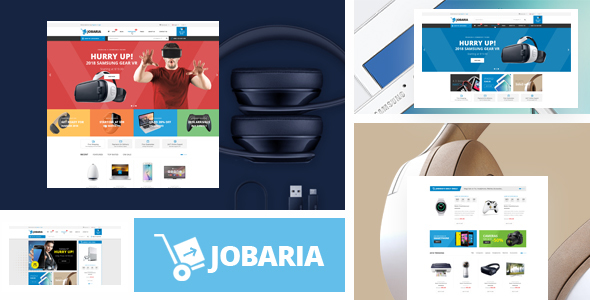 Jobaria - Technology Theme for WooCommerce WordPress