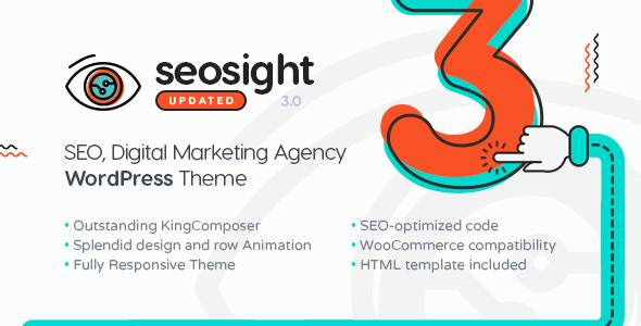 Seosight - Digital Marketing Agency WordPress Theme