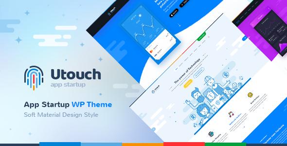 Utouch Startup - Multi-Purpose Business and Digital Technology WordPress Theme