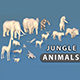 Jungle Animals - 3DOcean Item for Sale